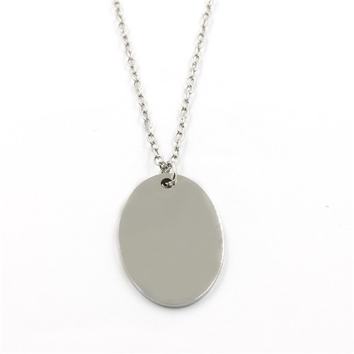 Stainless Steel Customization Round Shaped Pendant for Brecelets