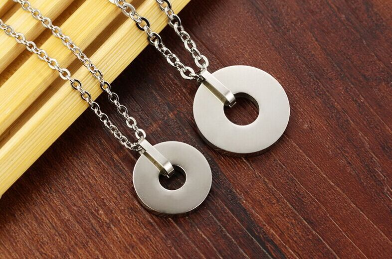 Fashion Jewelry Stainless Steel Pendant Necklace (NK209)
