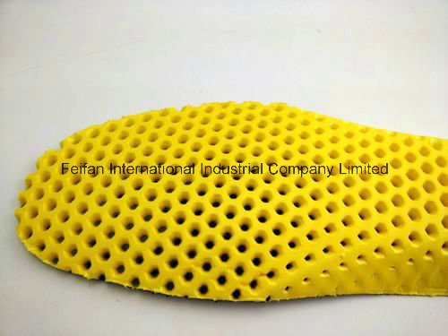 Breathable Honeycomb Water Resistant Heat Preservation EVA Foam Insole (FF809-2)