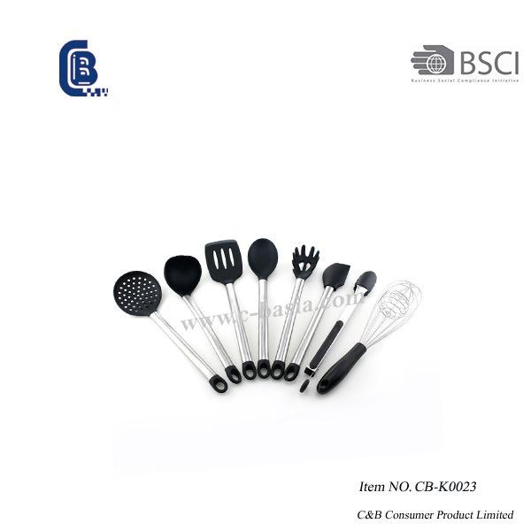 Набор силиконовых принадлежностей, 8ПК, кухонные инструменты, кухонные принадлежности