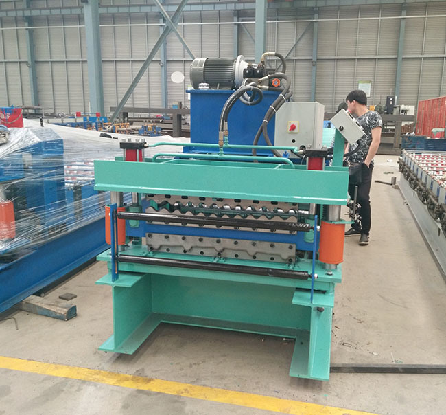 Colorful Steel Metal Roof Making Machine