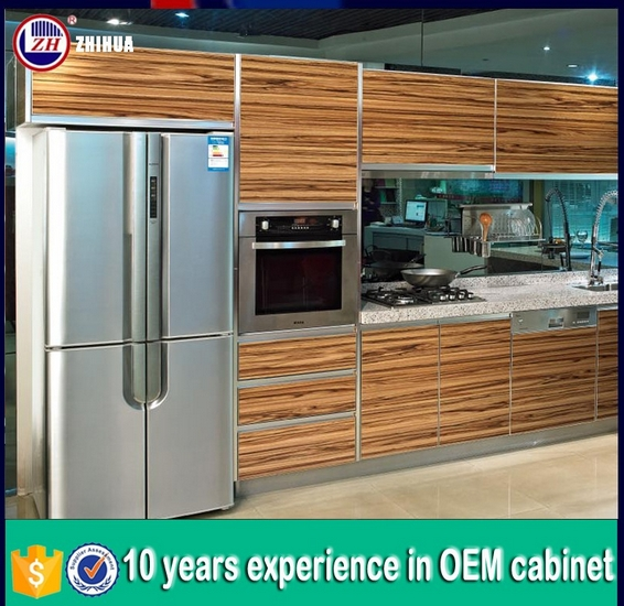 Modern Waterproof Euopean Standard Kitchen Cabinets (factory directly)
