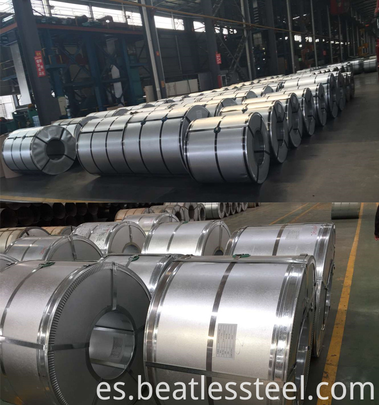 high quality galvalume steel coil