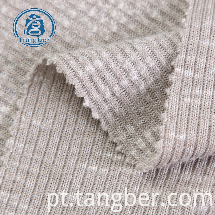 stretch rib knit fabric