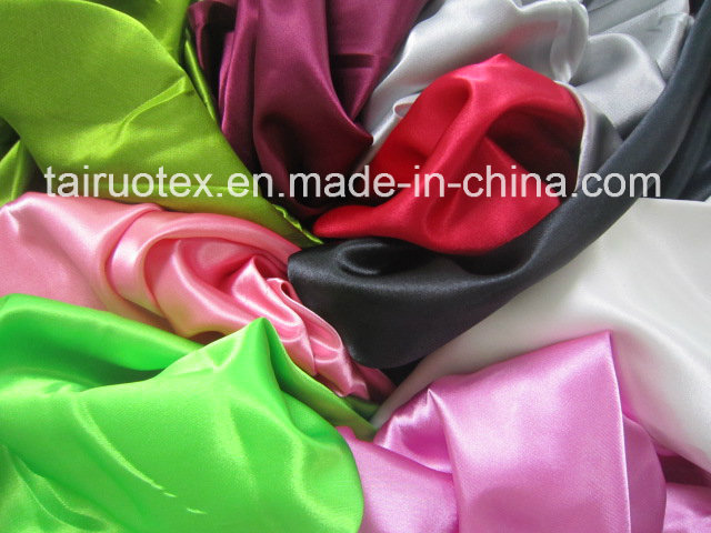 100% Polyester 190t Taffeta with Downproof for Garment Lining Fabric