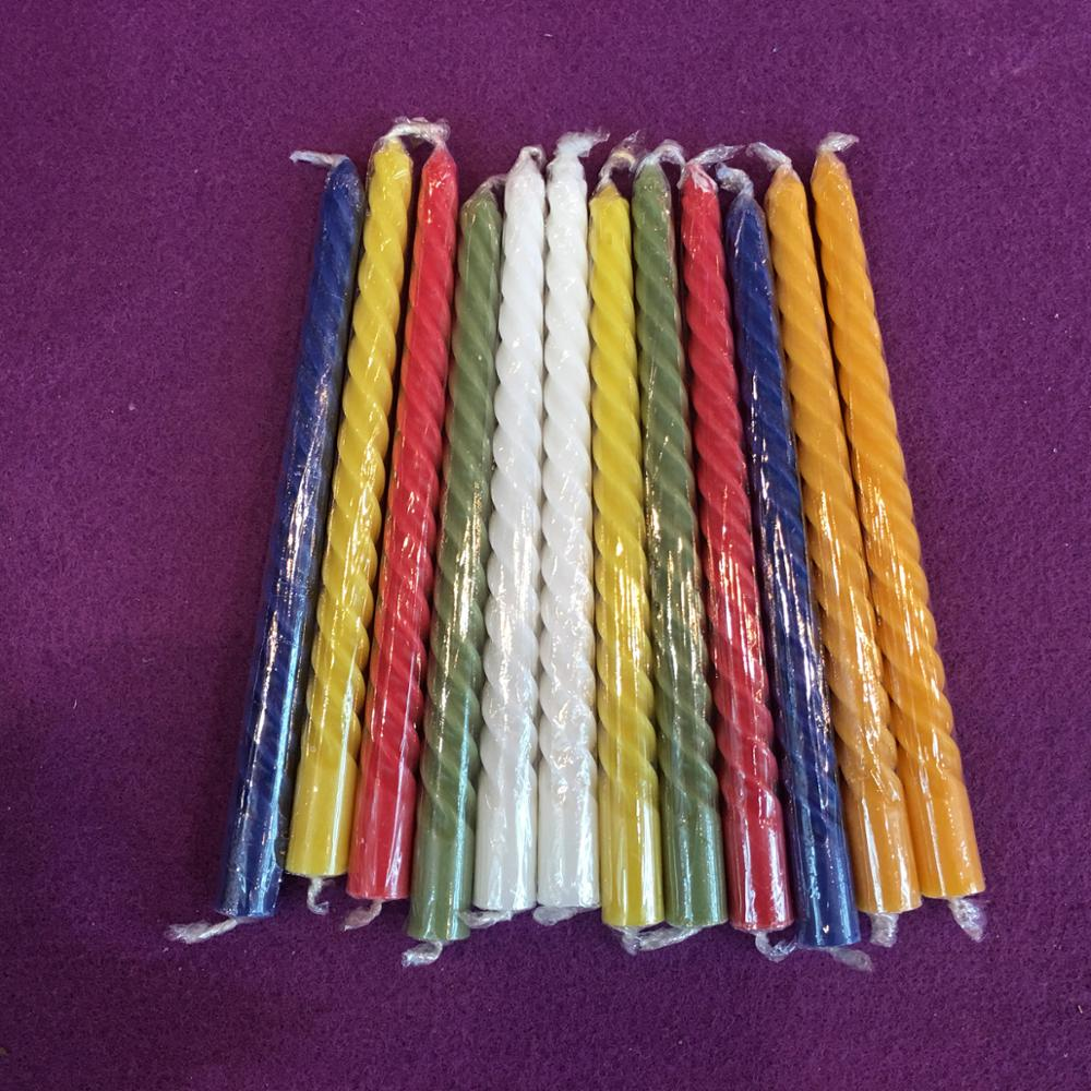 Color Taper Candles