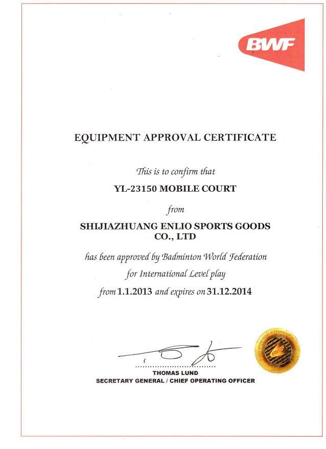 enlio certificates