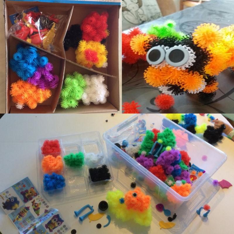 400+ Megapack DIY Puzzle Educational Xmas Festival Kids Birthday Gift Thorn Ball Toys