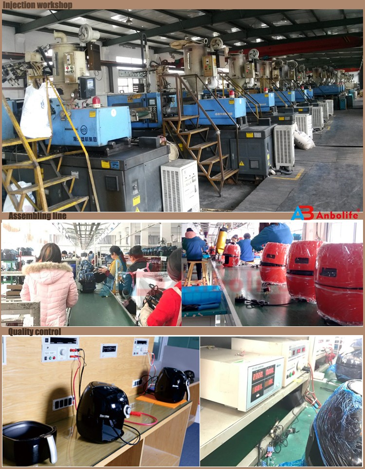 Air Fryer Factory workshop