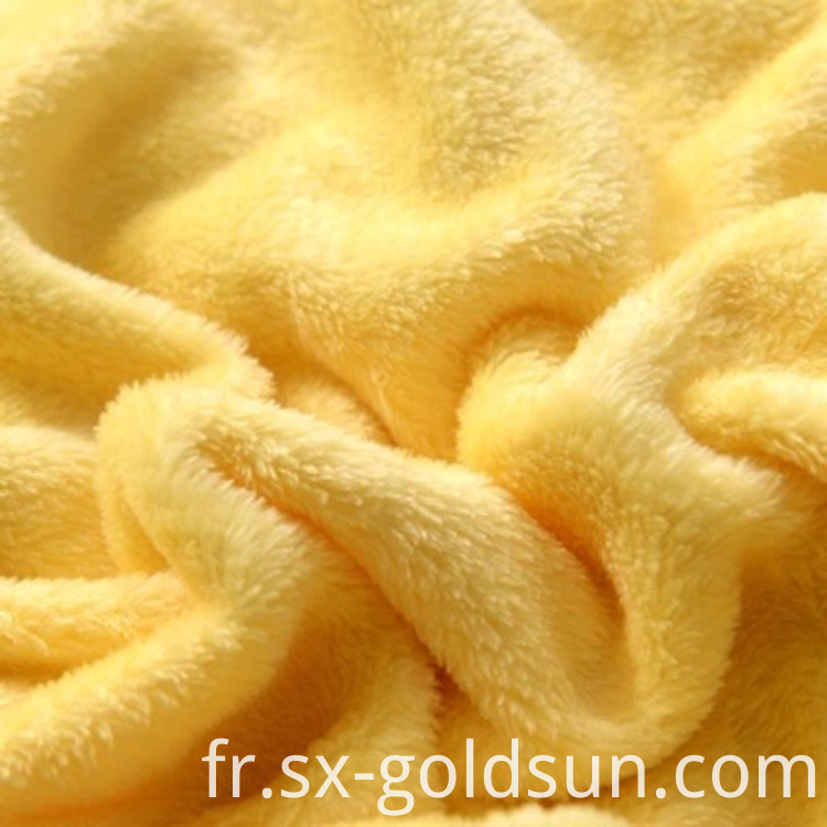 Fleece polyester blanket