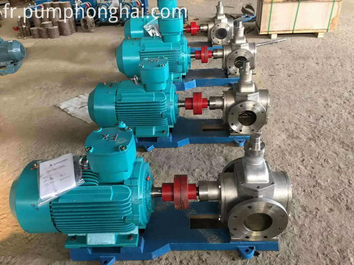 YCB stainless steel oil transfer pump