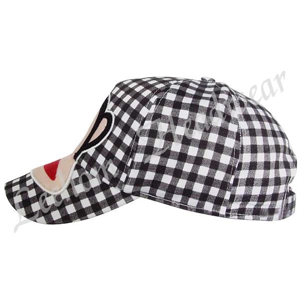 Fashion Check Pattern Baseball Caps