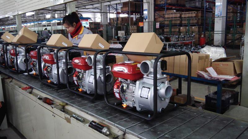 Petrol Engine Powered 2 Inch Centrifugal Water Pump for Farm Irrigation