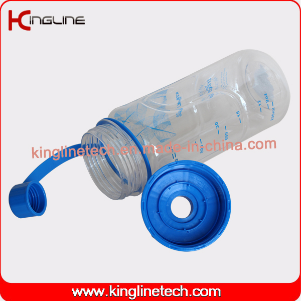 New design tritan material 1000ml water bottle with straw(KL-7105)