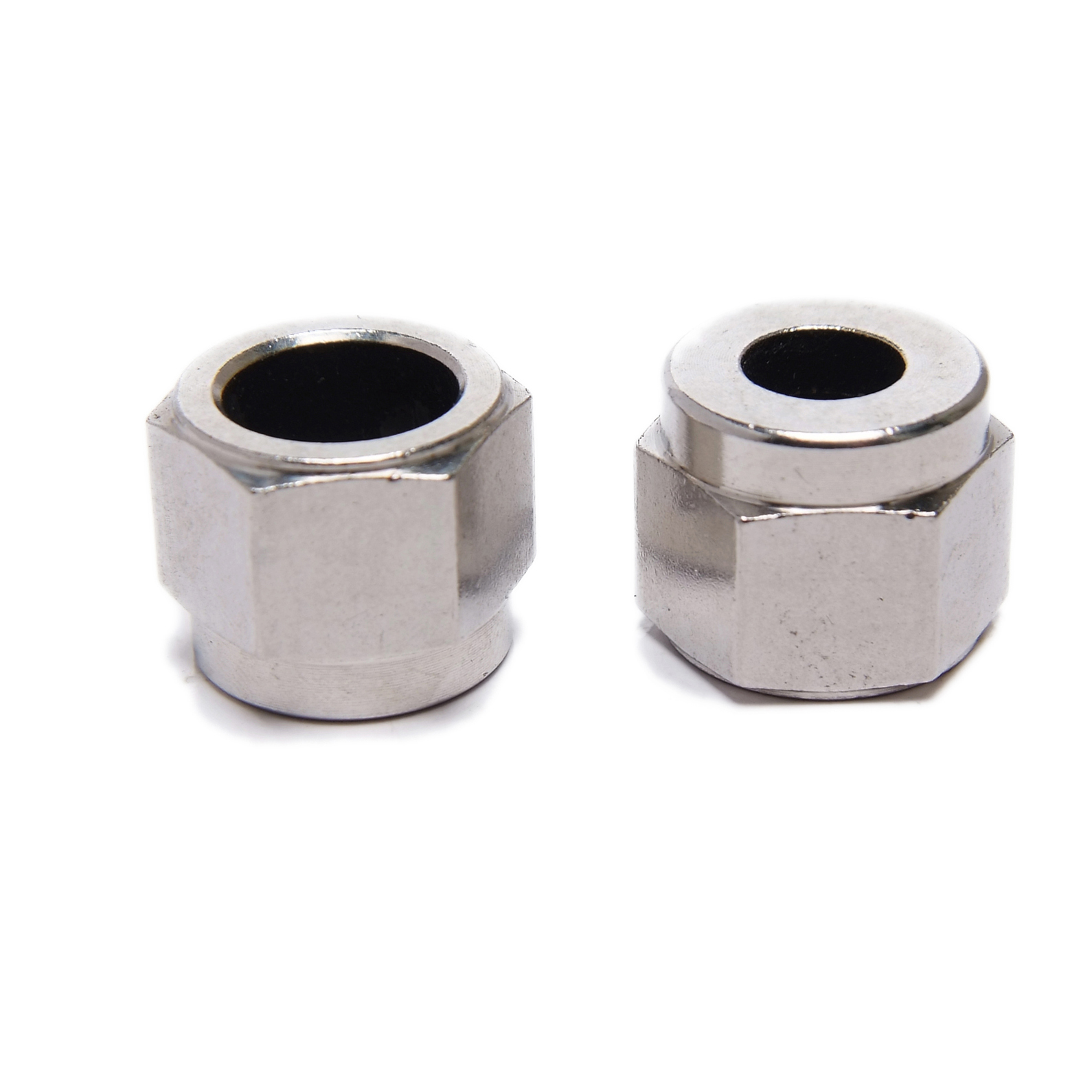 plain and black finish high tubular nuts