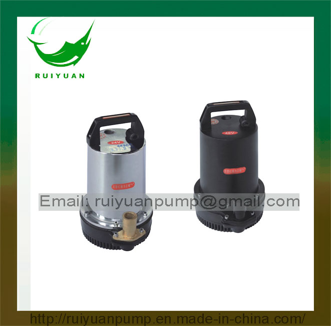 Hot Sales Electric Submersible DC Water Pump with Solar Power