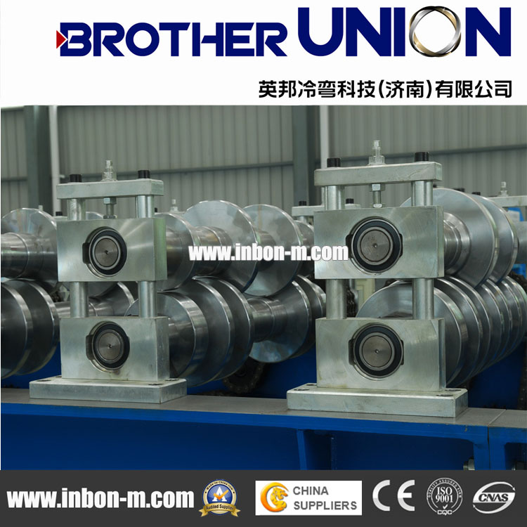 Color Steel Corrugated Sheet Roll Forming Machine