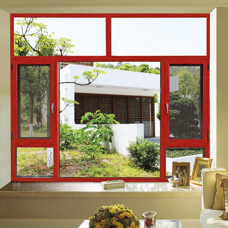 Heat Insulation Thermal Break Aluminum Casement Window (FT-W135)