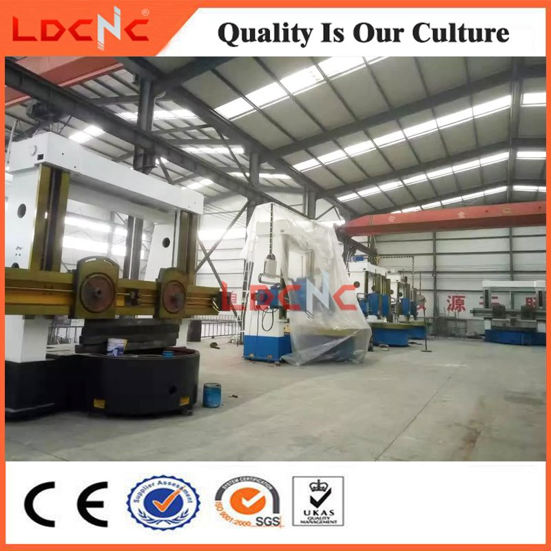 Normal Manual Double Column Vertical Lathe for Sale