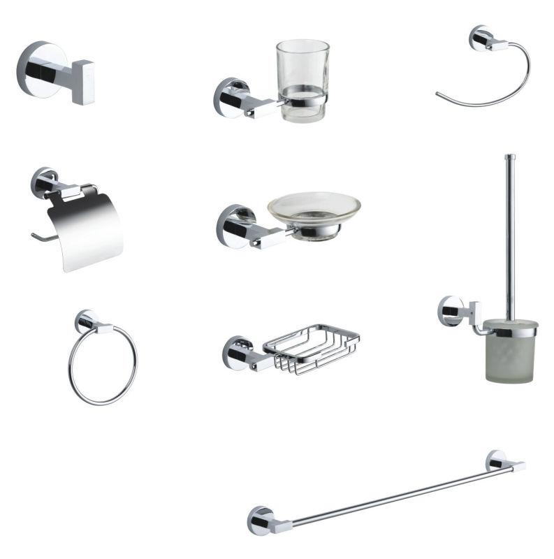 Bathroom Accessories Wall Mounted Zinc Towel Ring (JN1732)