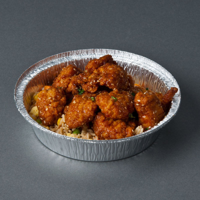 Food Grade Aluminum Silver Foil Containers