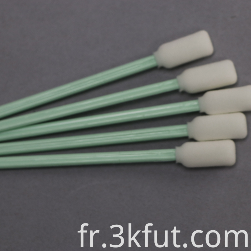 Competitive cleanroom foam swab