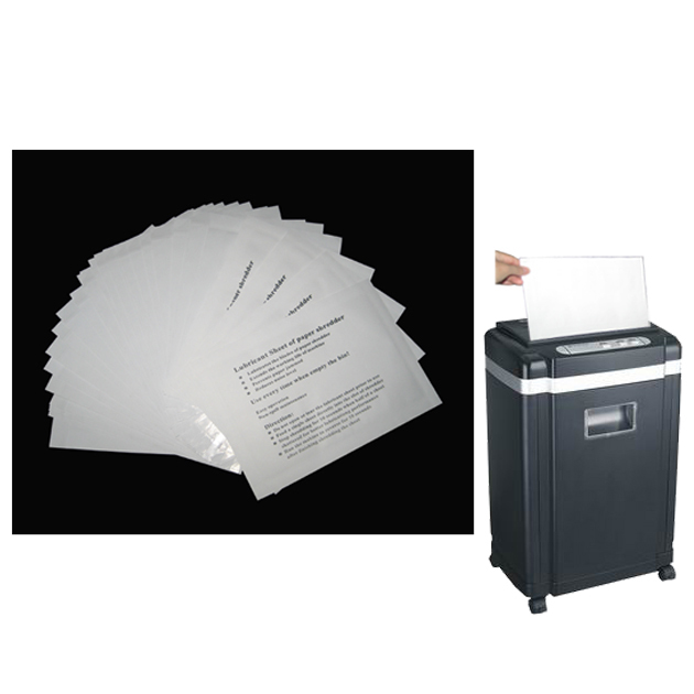 Lubricant Paper Shredder