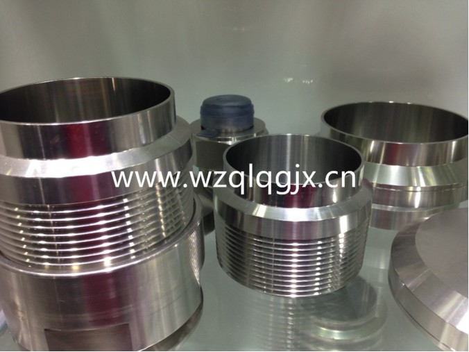 Good Quality AISI 304 316 Sanitary Connector Pipe Hose Fittings Stainless Steel Coupling