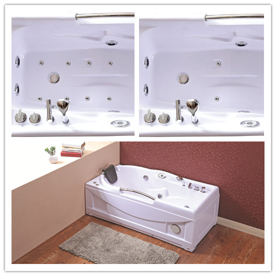 Ce Acrylic One Person Hot Tub with Pillow (TLP-634 Computer Panel Control)