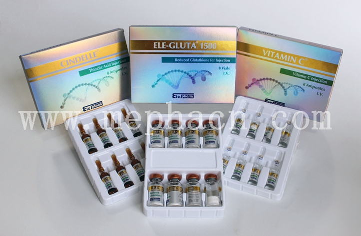 Best Effect Glutathione 1500mg + Vitamin C + Cindelle for Skin Whitening