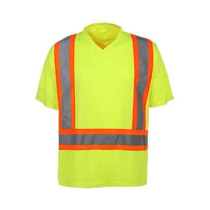 High Quality Reflcetive Safety T-Shirt with Class 2