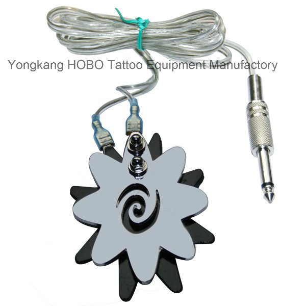 Mini Tattoo Machine Round Shap Tattoo Power Supply Foot Switch