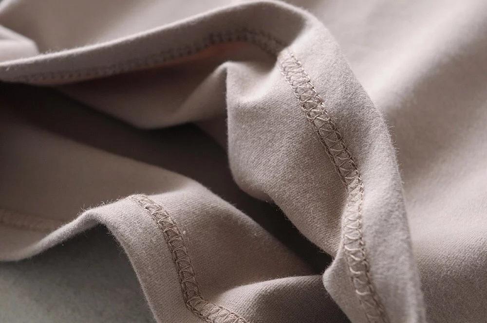 Knit Spandex Crop Tops T-shirts Women