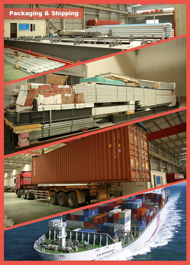Large Span and Low Cost Steel Structure Warehouse