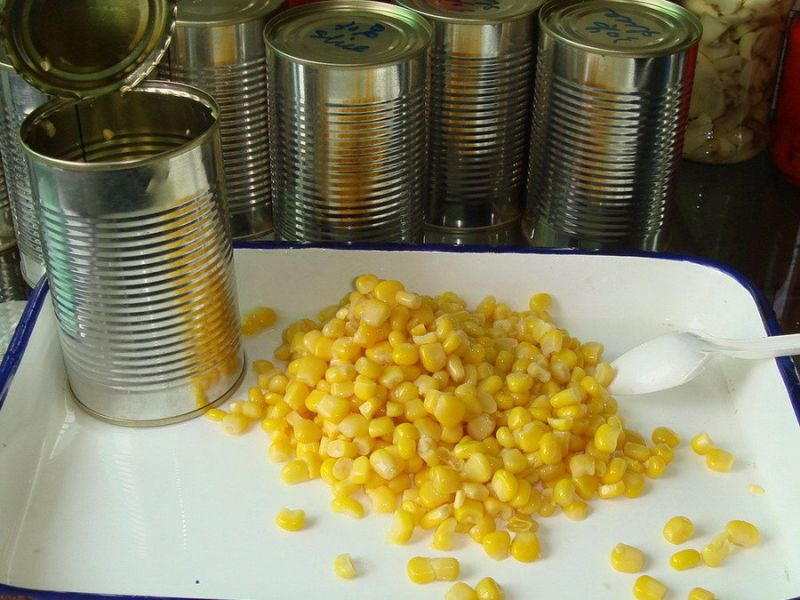 2016 Crop Canned Sweet Corn Kernels