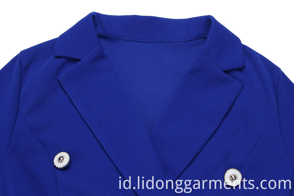Ladies Solid Color Dress