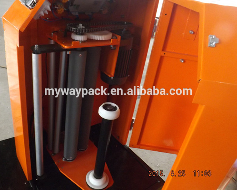 automatic airport luggage wrapping machine