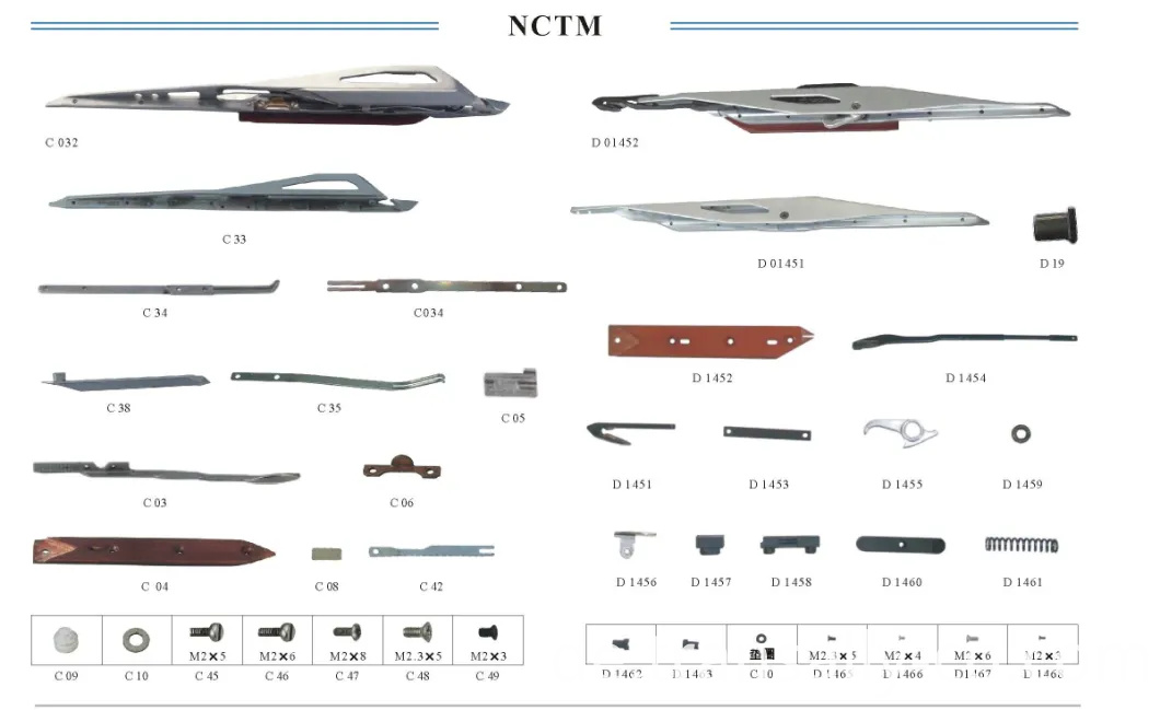 Gripper and Parts Nctm Loom Spare Parts