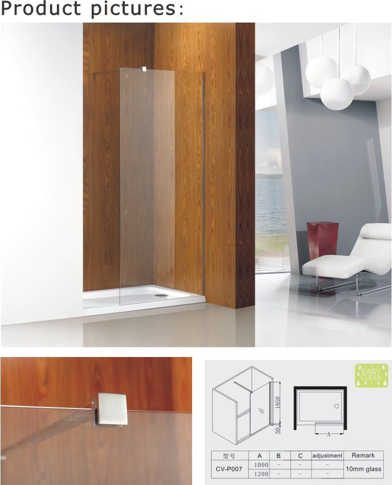 Walk-in Shower Screen Popular in Australia (A-CVP007)