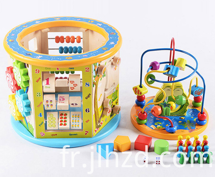 Wooden multifunctional toys