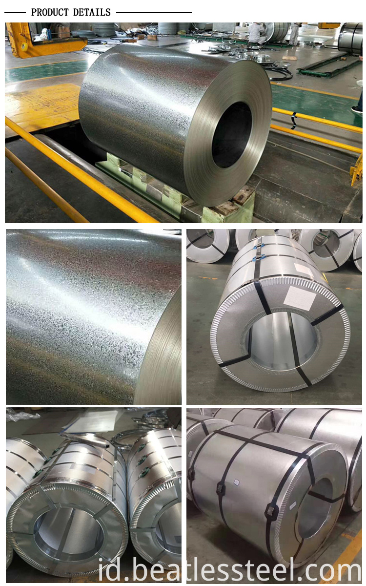 galvanized steel coil z27