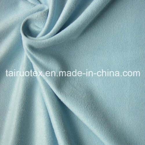 100% Polyester Micro Suede for Lady Shoes Fabric