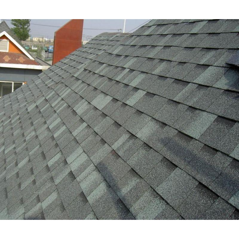 Blue Roofing Tile /Johns Manville Asphalt Shingle /Self Adhesive Roofing Material (ISO)