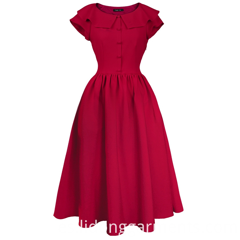 Women Vintage Summer Dress