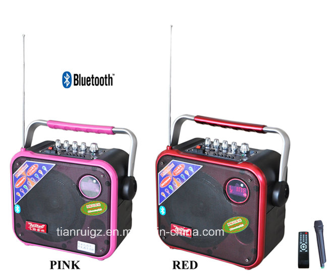 6.5 Inch Colorful Bluetooth Mini Speaker with CE RoHS F83