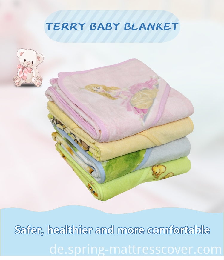 Terry kid Blanket Square