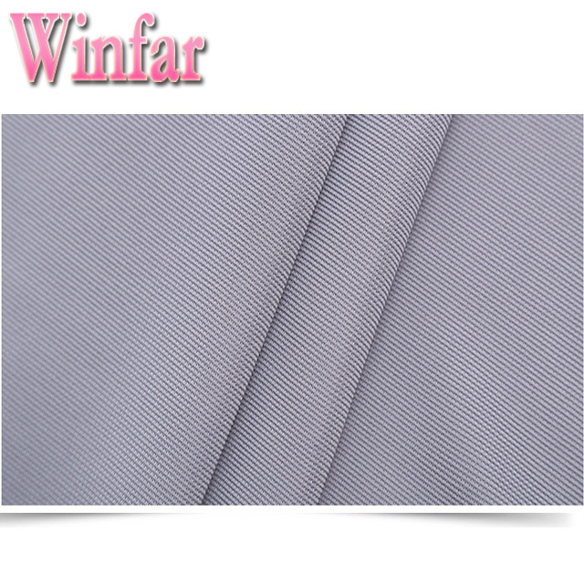 Ribbed Polyester Fabric