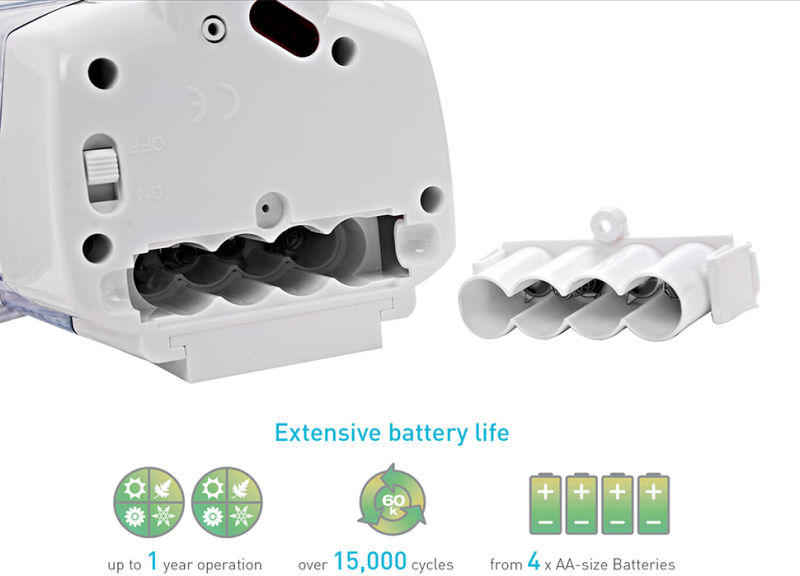 V-410 Bathroom Automatic Sensor Soap Dispenser, Wall Mounted Soap Dispenser, Touch Free Soap Dispenser