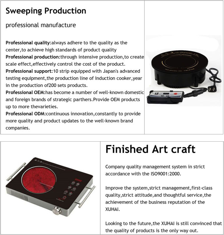 Guaranteed Quality Non-Stick Cooking Surface Induction Cooker