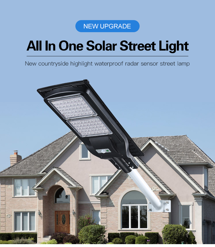 all-in-one solar led street light